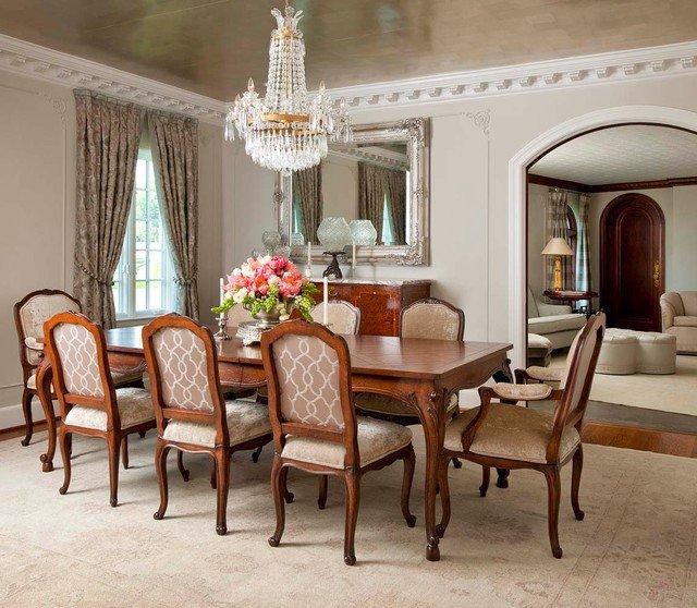 Images Of Dining Room Decor Lovely Florentine Dining Room Traditional Dining Room Dallas by Gibson Gimpel Interior Design