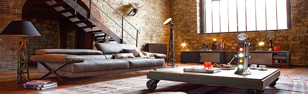 Industrial Contemporary Living Room Awesome 5 Industrial Brass Lamp Ideas for A Modern Living Room