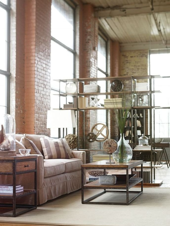 Industrial Contemporary Living Room Best Of 30 Stylish and Inspiring Industrial Living Room Designs