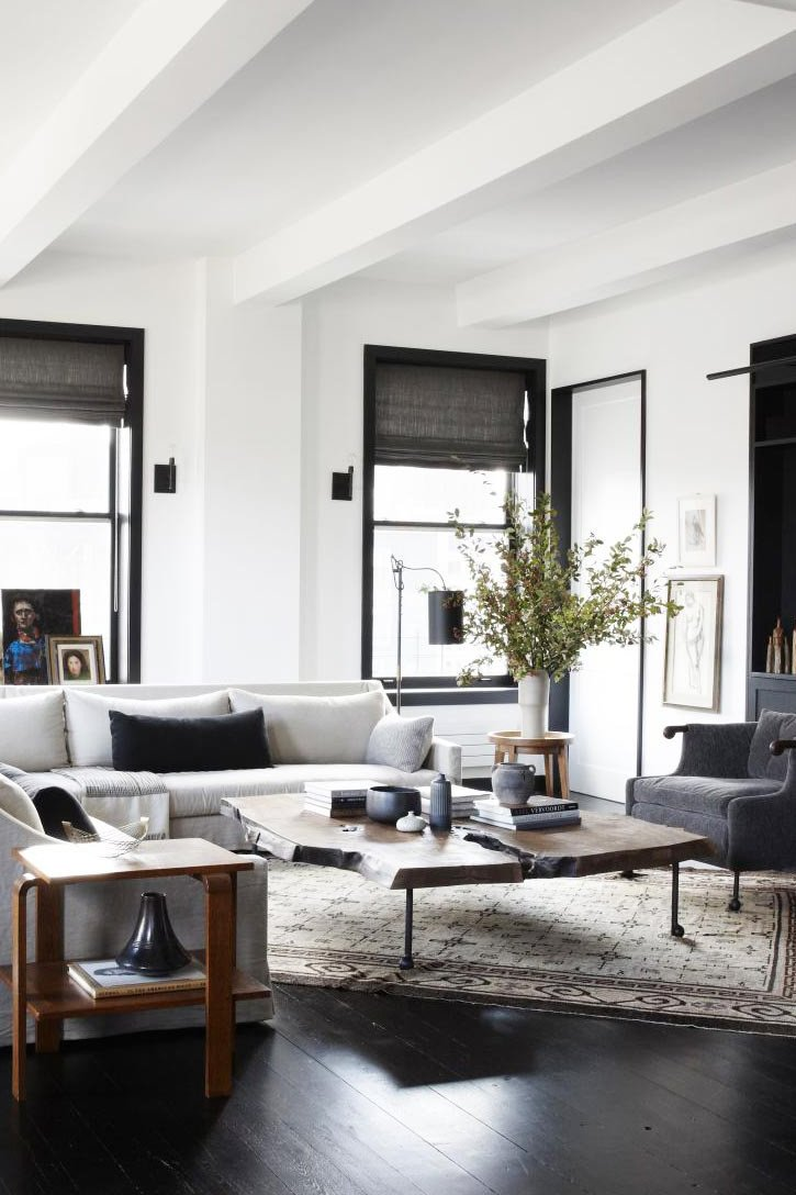 Industrial Contemporary Living Room Elegant Industrial Verve In An Uptown Loft Thou Swell