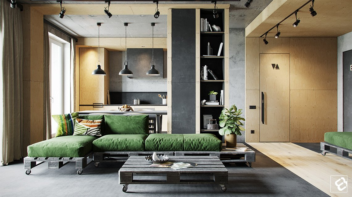 Industrial Contemporary Living Room Inspirational Industrial Style Living Room Design the Essential Guide