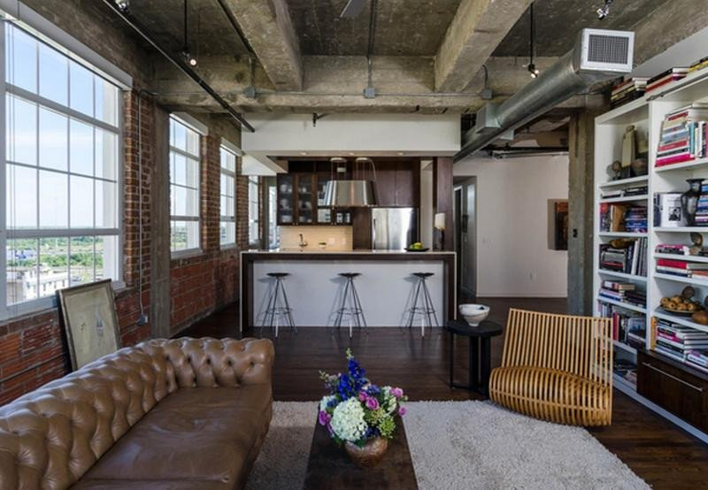 Industrial Contemporary Living Room Lovely 15 Stunning Industrial Living Room Designs Rilane