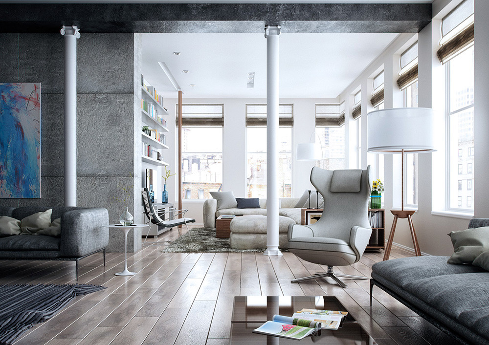 Industrial Contemporary Living Room Luxury 25 Modern Living Rooms with Cool Clean Lines