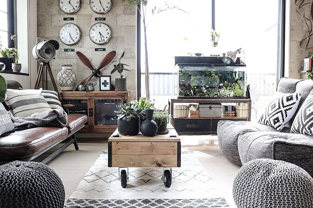 Industrial Contemporary Living Room New 20 Monochromatic Living Rooms In White Full Of Personality