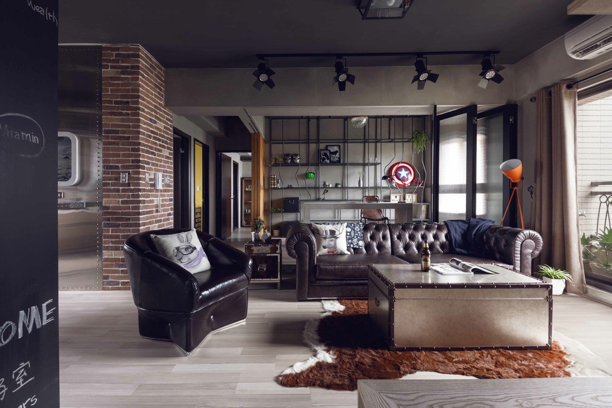 Industrial Contemporary Living Room Unique Industrial Style Living Room Design the Essential Guide