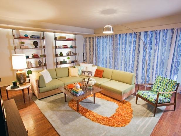 Industrial Contemporary Living Room Unique Page