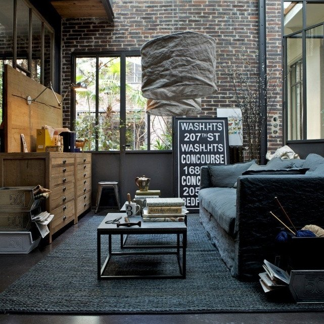 Industrial Modern Living Room Decorating Ideas Beautiful 30 Stylish and Inspiring Industrial Living Room Designs