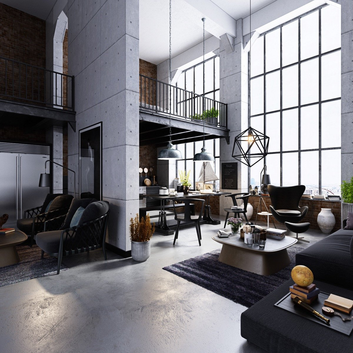 Industrial Modern Living Room Decorating Ideas Beautiful Industrial Style Living Room Design the Essential Guide