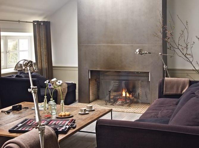 Industrial Modern Living Room Decorating Ideas Elegant Industrial Chic Living Rooms Decoholic