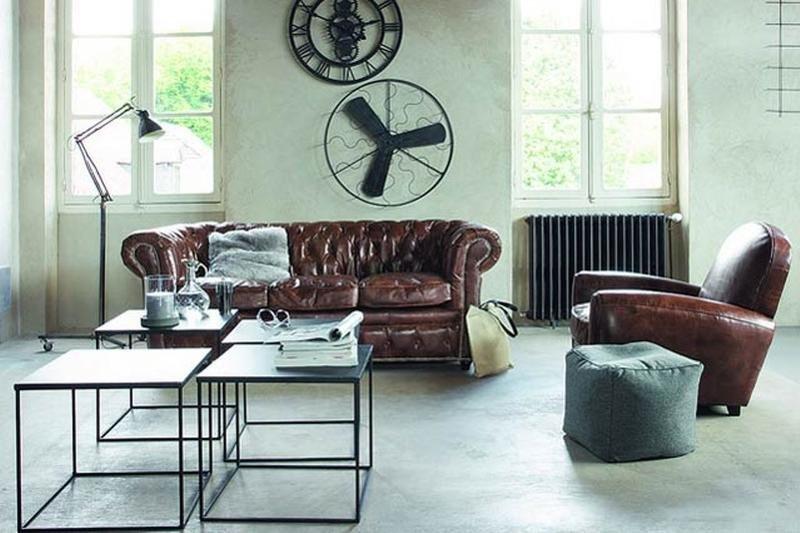 Industrial Modern Living Room Decorating Ideas Inspirational 15 Stunning Industrial Living Room Designs Rilane