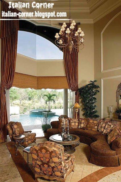 Italian Living Room Decorating Ideas Lovely Italian Living Room Designs Ideas with Round sofas Interior Designs