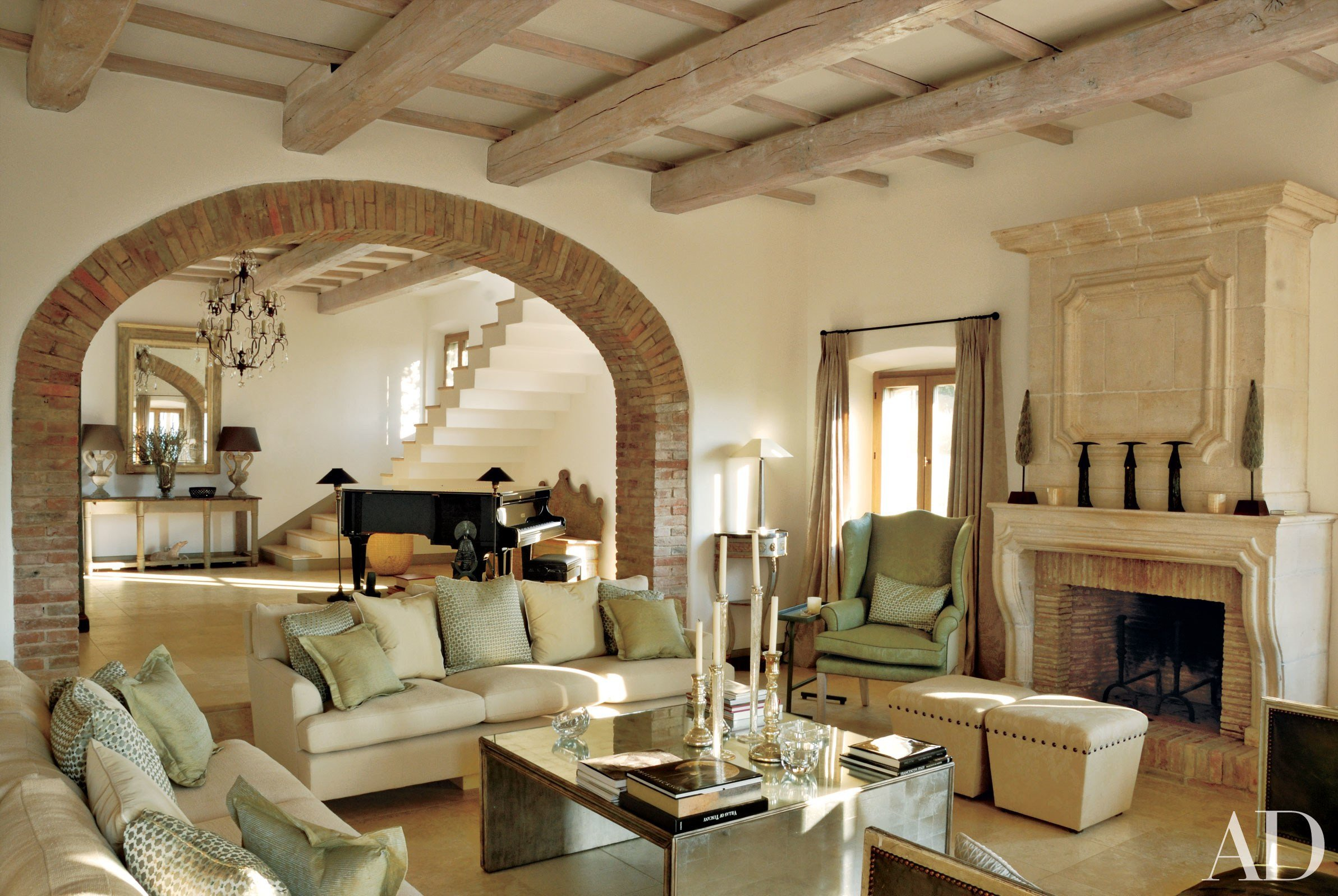 Italian Living Room Decorating Ideas New 15 Romantic Rooms In Italian Homes From the Ad Archives