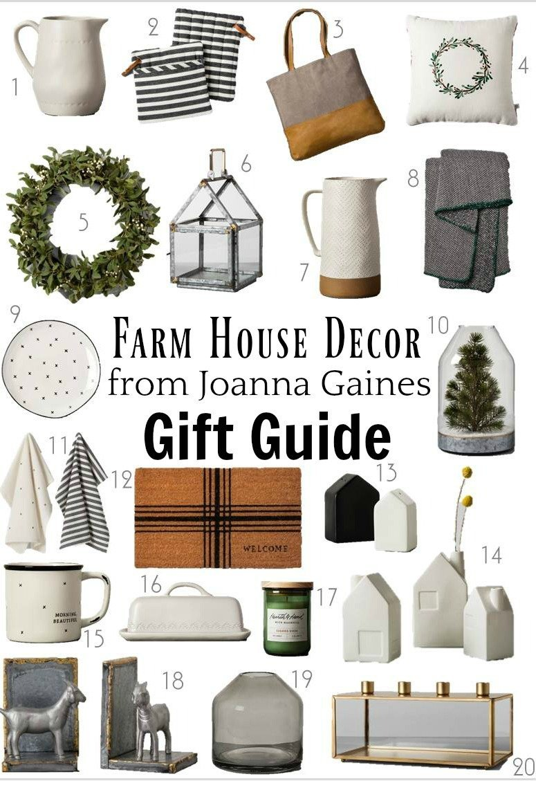 Joanna Gaines Home Decor Line New Chip and Joanna Gaines Farmhouse Style Decor Gift Ideas