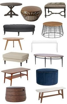 10 kid friendly ottoman coffee table options for your living room Homey Ideas