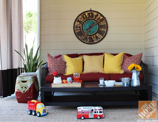 Kid Friendly Coffee Table Decor Beautiful A Family Friendly Under Deck Patio by Blulabel Bungalow