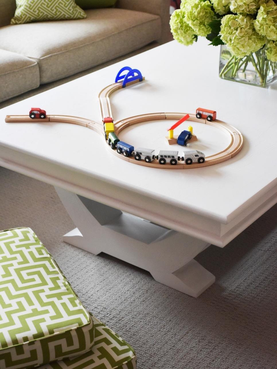 Kid Friendly Coffee Table Decor Beautiful Kid and Pet Friendly Living Room Ideas