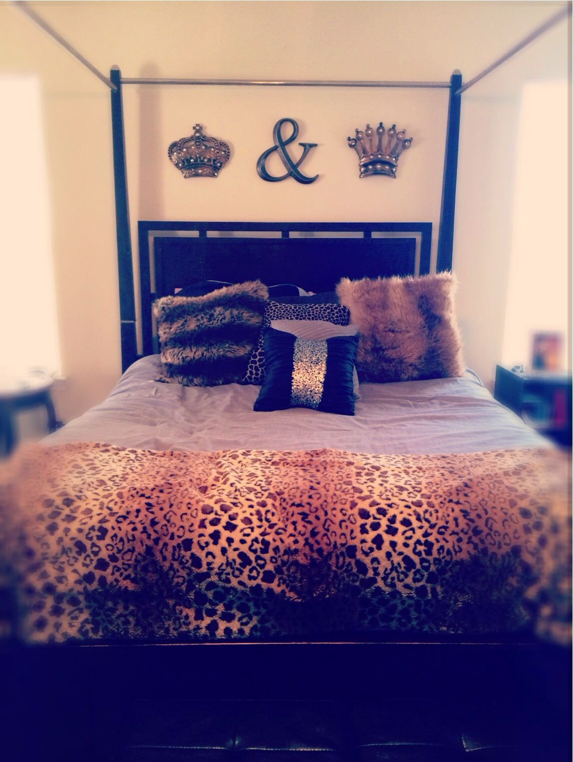 King and Queen Bedroom Decor Beautiful King and Queen Bedroom Decor Over Our Bed now to Add Paint but I Love It