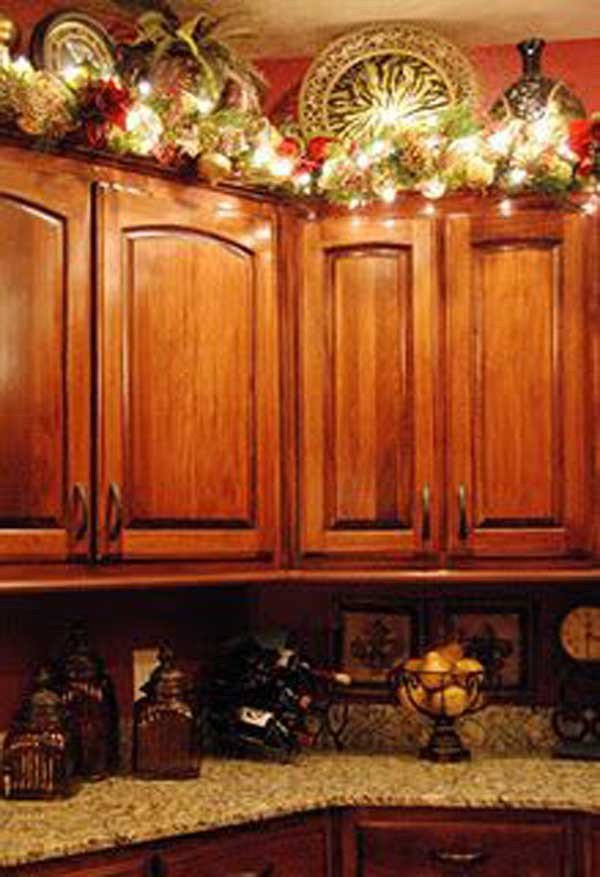 Kitchen Cabinet top Decor Ideas Best Of 24 Fun Ideas Bringing the Christmas Spirit Into Your Kitchen