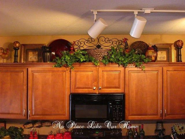 Kitchen Cabinet top Decor Ideas Luxury No Place Like Our Home New Kitchen Vignette S Home Decor Pinterest