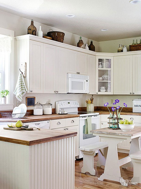 Kitchen Decor for Above Cabinets Best Of 10 Stylish Ideas for Decorating Kitchen Cabinets