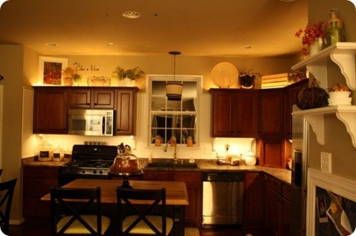 Kitchen Decor for Above Cabinets Elegant Ideas for that Awkward Space Above Your Kitchen Cabinets
