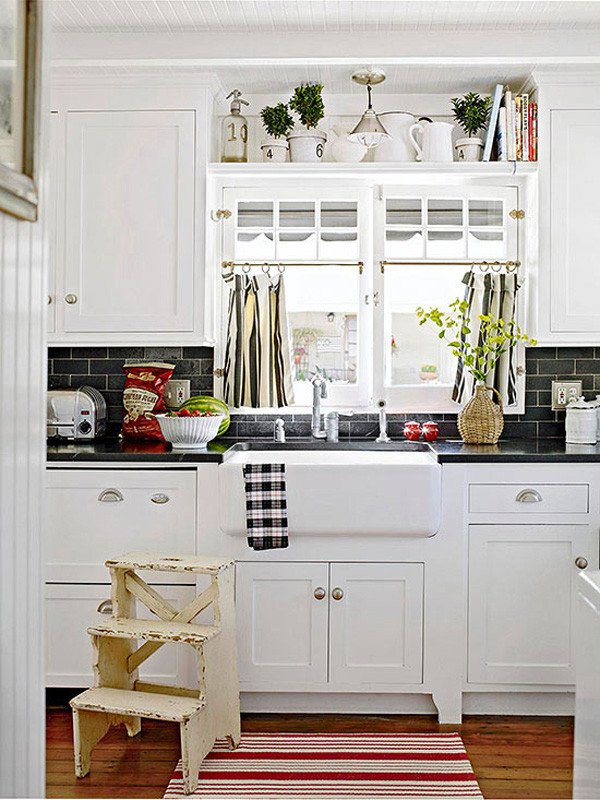 Kitchen Decor for Above Cabinets Unique 10 Stylish Ideas for Decorating Kitchen Cabinets