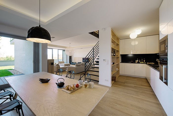 Kitchen Decor Ideas for Apartment Beautiful Elegant Interior Of A Duplex Apartment Interiorzine