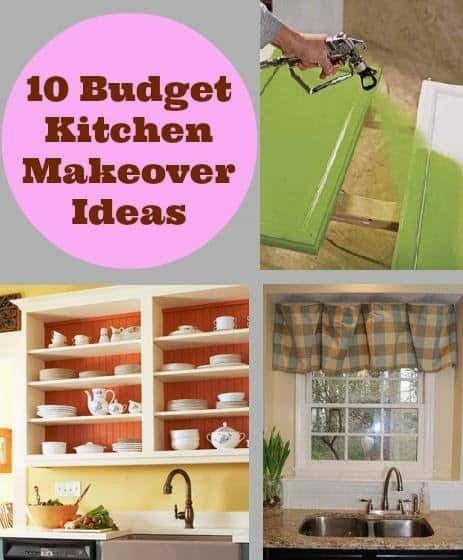 Kitchen Decor On A Budget Unique 10 Bud Kitchen Makeover Ideas