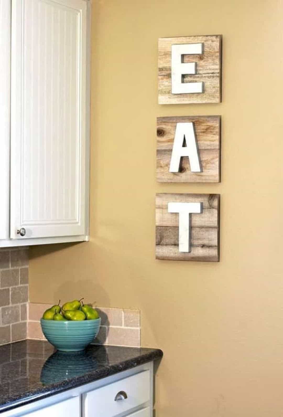 Kitchen Wall Decor Ideas Diy Inspirational 16 Stunning Kitchen Wall Decorating Ideas