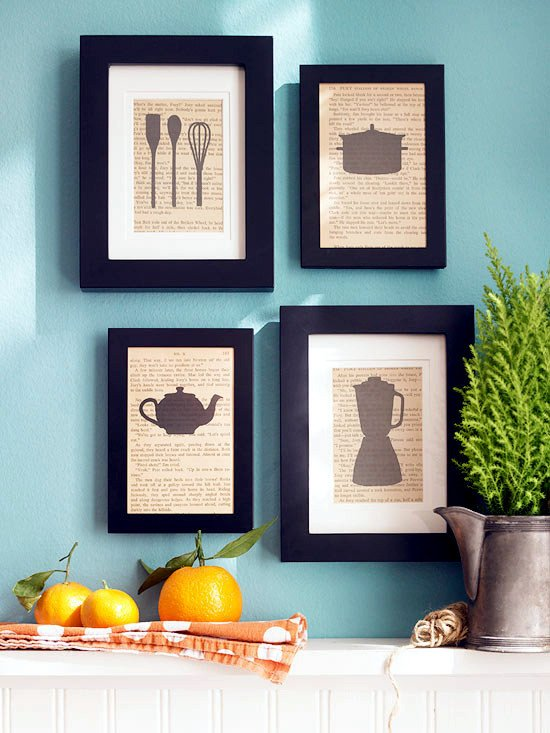 Kitchen Wall Decor Ideas Diy Inspirational Interesting Decor and Ideas for Decorating the Wall In the Kitchen