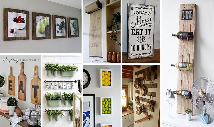 Kitchen Wall Decor Ideas Diy Luxury 20 Gorgeous Kitchen Wall Decor Ideas to Stir Up Your Blank Walls the Art In Life