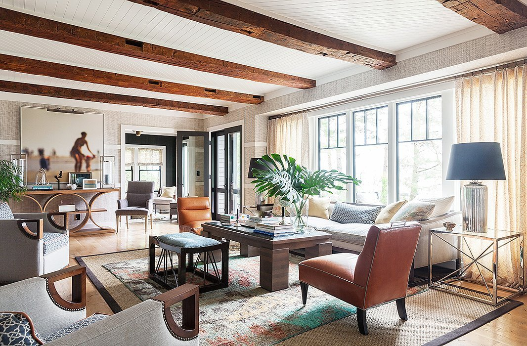Lake House Furniture and Decor New tour the Chic Modern Lake House Of Designer Thom Filicia