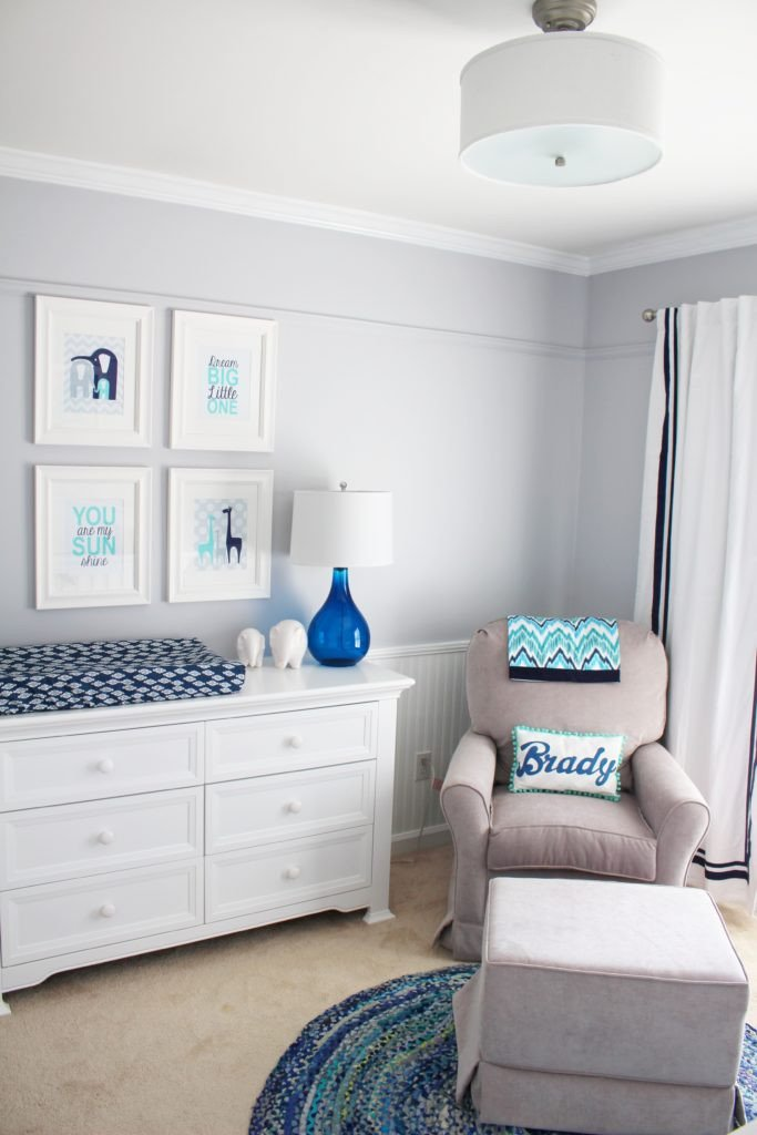 Little Boy Room Decor Ideas Fresh Little Boy Blue Nursery Project Nursery
