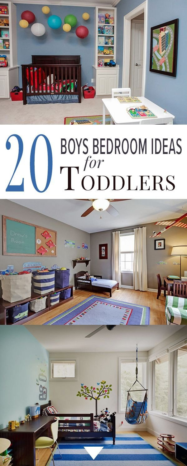 Little Boy Room Decor Ideas Luxury 20 Boys Bedroom Ideas for toddlers Bedrooms