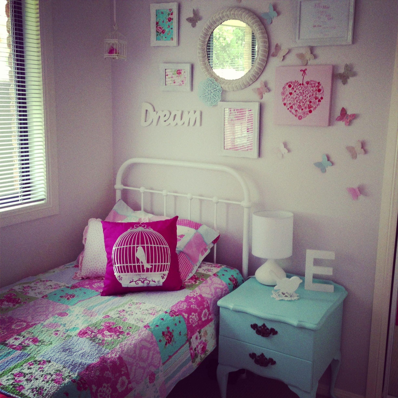Little Girl Room Decor Ideas Fresh Little Girls Room Decor I Like the Wall Behind the Bed Girls Room Ideas