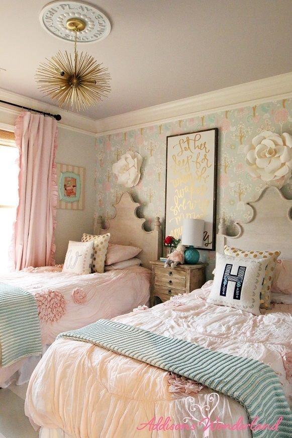 Little Girl Room Decor Ideas Lovely Feature Friday Addison S Wonderland Bedrooms