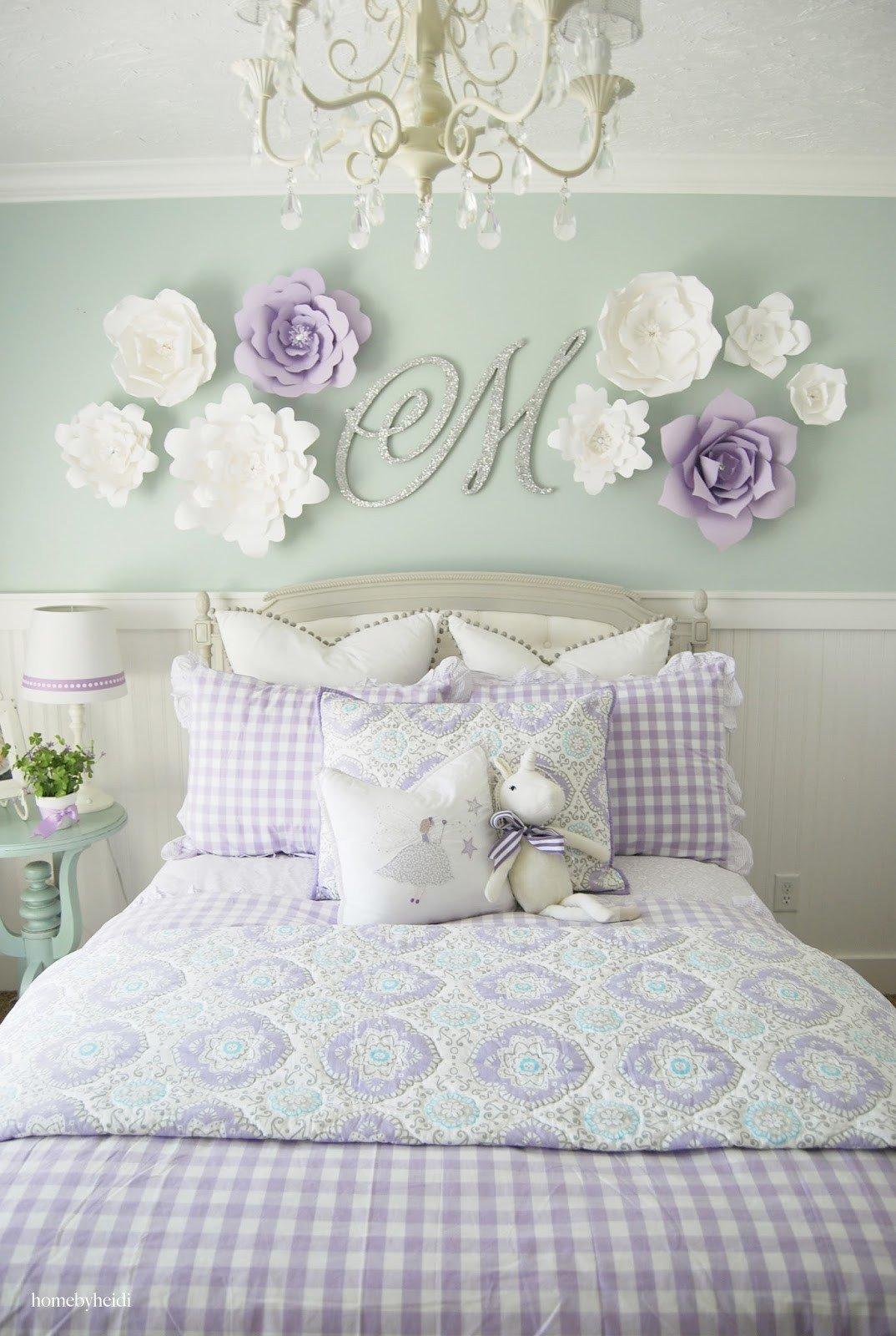 Little Girl Room Decor Ideas New Home by Heidi Purple & Turquoise Little Girls Room