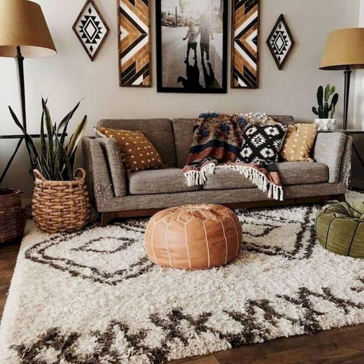 55 Bohemian Living Room Decor Ideas Googodecor