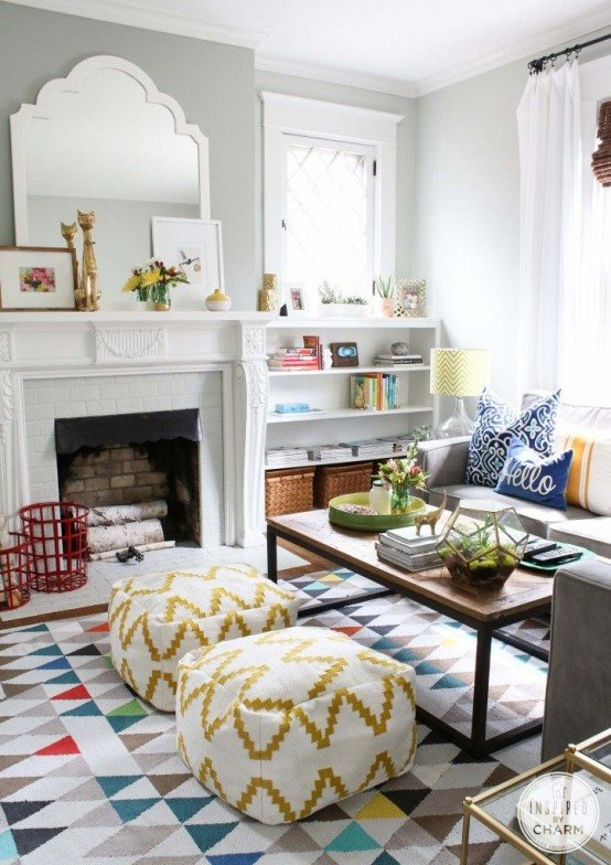 Living Room Art Decor Ideas Luxury 33 Cheerful Summer Living Room Décor Ideas Digsdigs