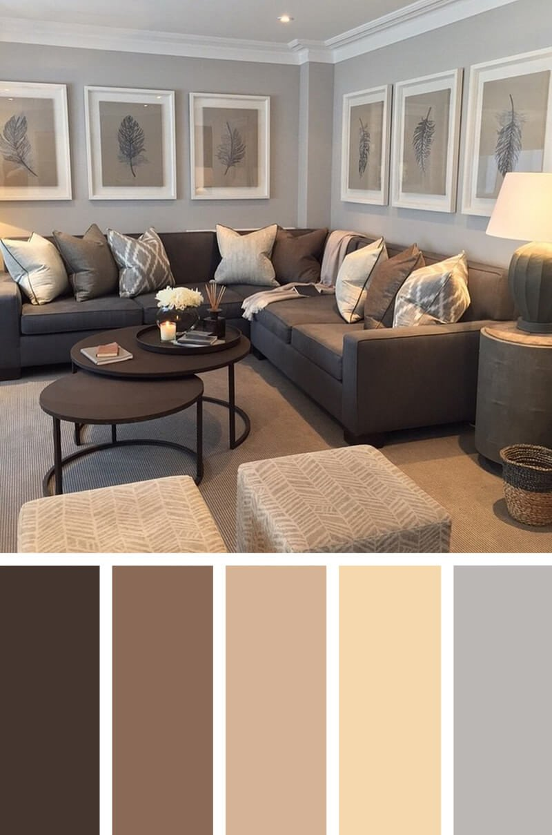 Living Room Color Schemes to Make Your Room Cozy Beautiful 11 Best Living Room Color Scheme Ideas and Designs for 2019