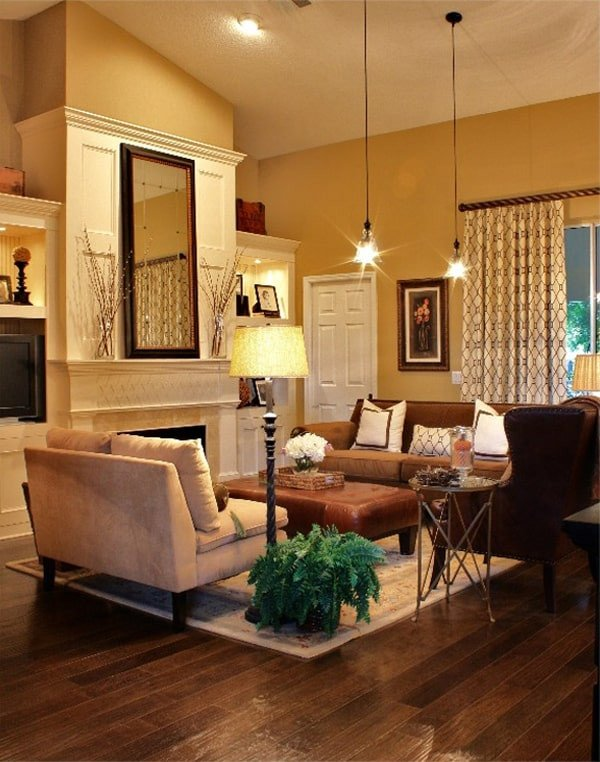 Living Room Color Schemes to Make Your Room Cozy Lovely 43 Cozy and Warm Color Schemes for Your Living Room