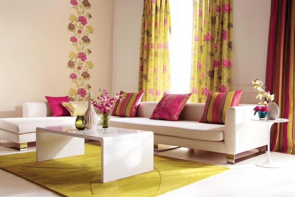 Living Room Curtains Ideas New 18 Modern Living Room Curtains Design Ideas