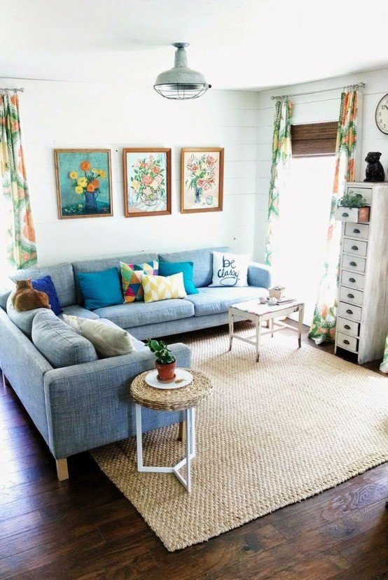Living Room Design for Summer Awesome 33 Cheerful Summer Living Room Décor Ideas Digsdigs
