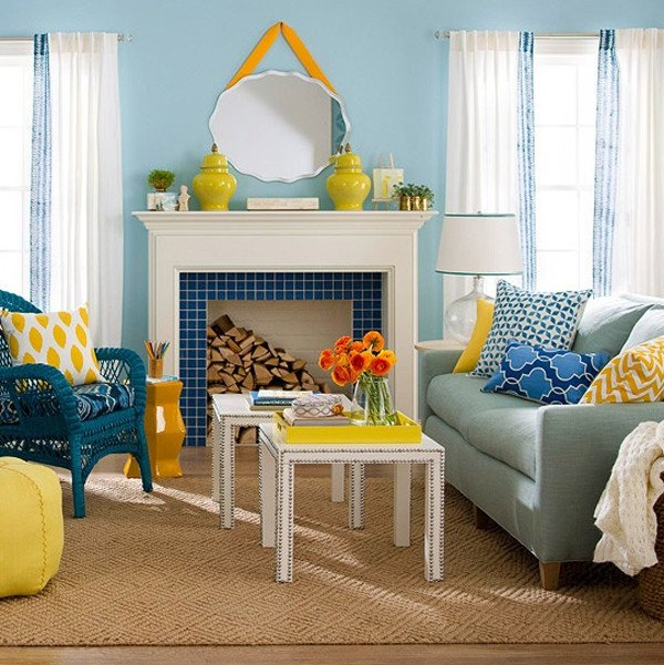 Living Room Design for Summer Beautiful 15 Chic and Colorful Spring Living Room Designs