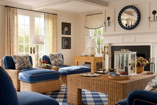 Living Room Design for Summer Best Of Wicker Elements that Increase Decor Appeal