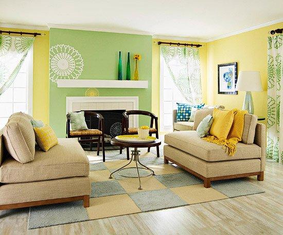 Living Room Design for Summer Elegant Modern Furniture 2013 Summer Living Room Decorating Ideas From Bhg