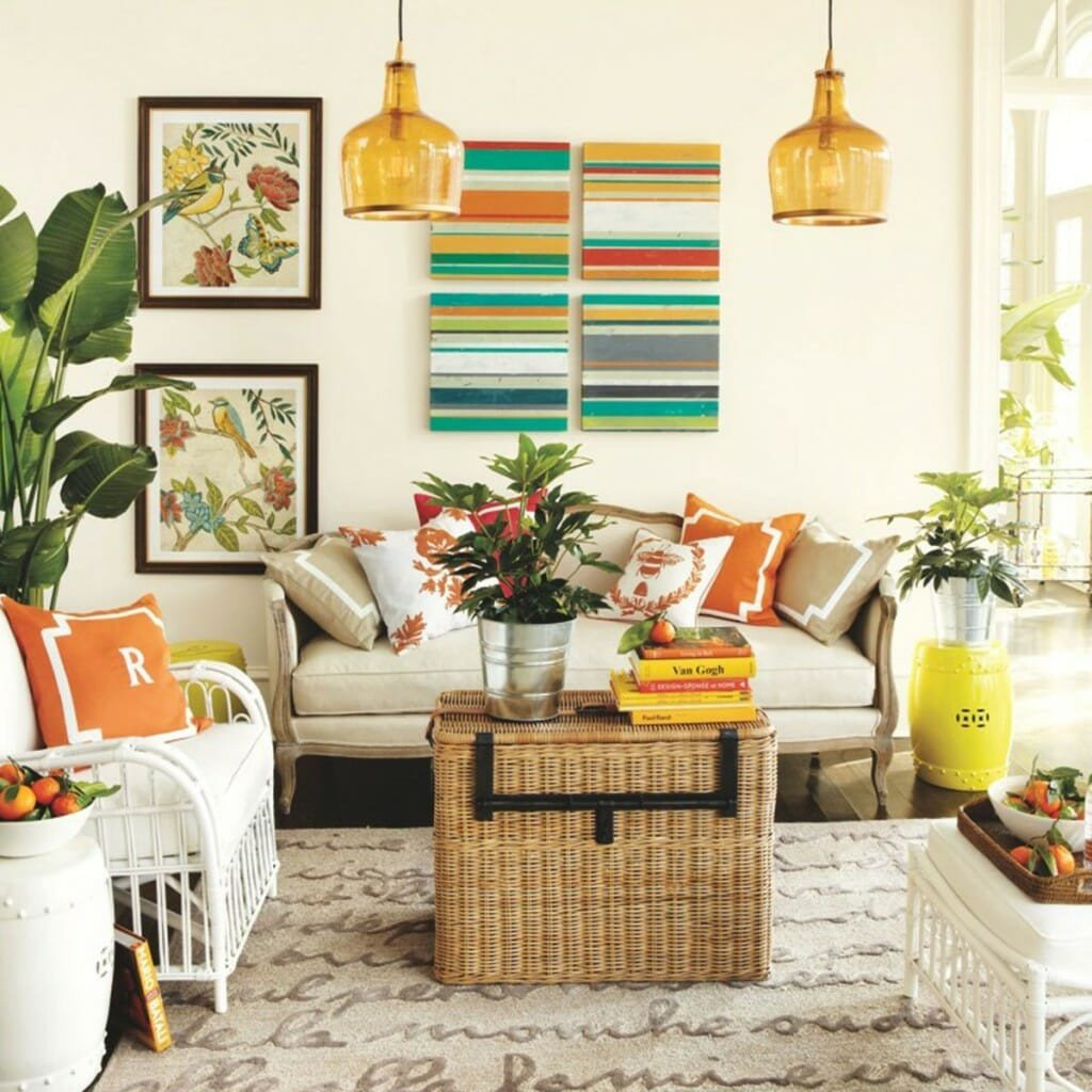 Living Room Design for Summer Lovely 5 Ways to Infuse Your Decor with Summer