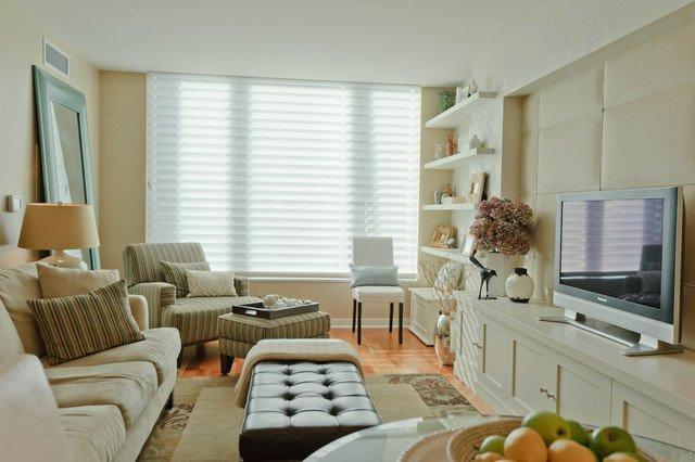 Living Room Ideasfor Small Spaces Elegant Cabinetry In Small Spaces Modern Living Room San Francisco by Regan Baker Design