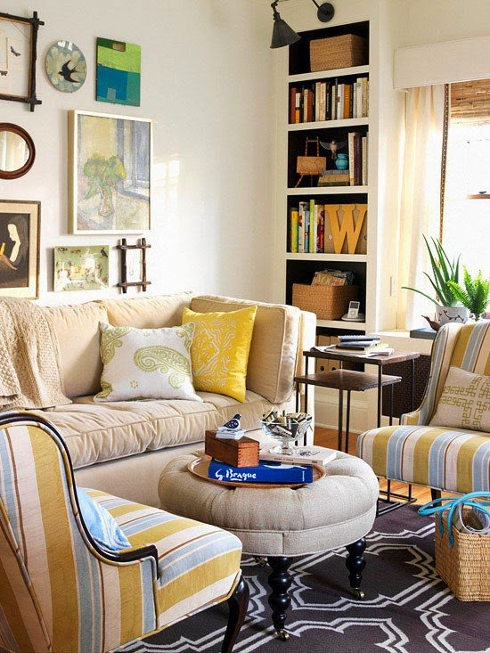 Living Room Ideasfor Small Spaces Elegant Modern Furniture Clever solution for Small Spaces 2014 Ideas