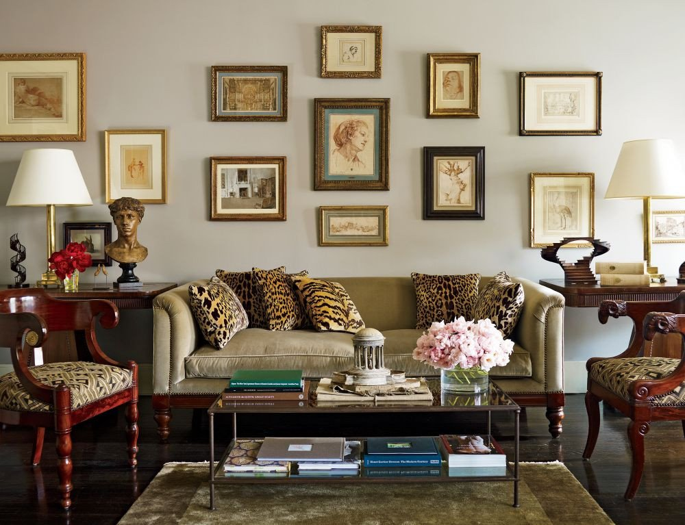 Living Room Traditional Home Awesome Nina Gris and Leonel Piraino S Traditional Living Room by Architectural Digest